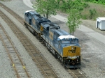 CSXT GE ES44AC's 949 & 884